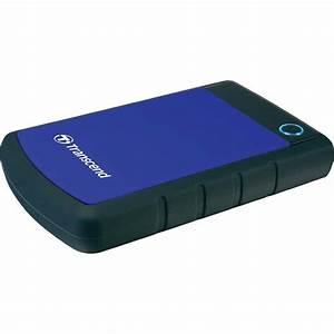 "2.5"" external hard drive 1 TB Transcend StoreJet 25H3B ..."