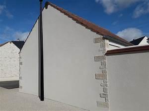 crepi de facade lequel choisir travauxcom With enduit de finition exterieur