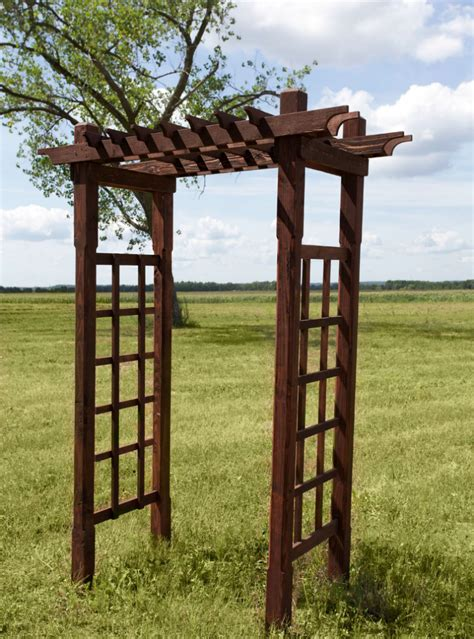 Small Wooden Trellis by Wood Trellis Tents And Events Wisconsin