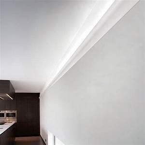 Eclairage Indirect Plafond : corniche moulure de plafond axxent orac decor pour ~ Melissatoandfro.com Idées de Décoration