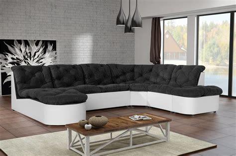 canapé noir et blanc photos canapé noir et blanc cdiscount