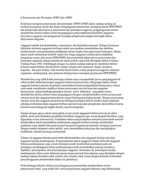 Uu no.17 thn 2003 tentang keuangan negara