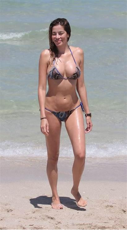 Aida Yespica Bikini Beach Gotceleb