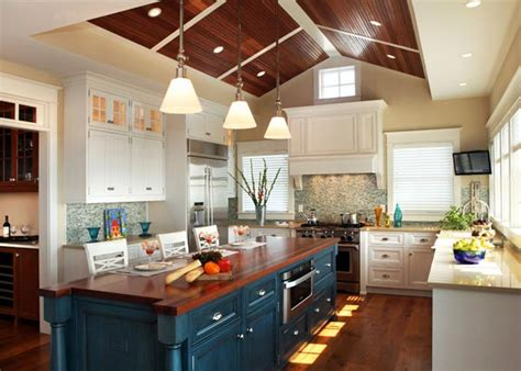 colorful kitchen island ideas eatwell