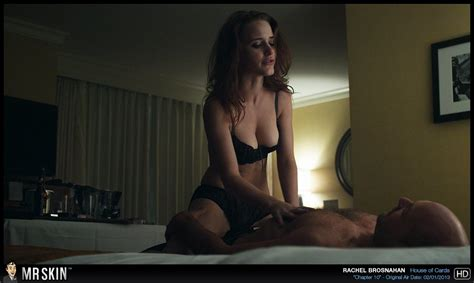 Naked Rachel Brosnahan In House Of Cards
