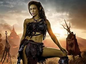 13+ Paula Patton as Garona Warcraft movie HD wallpapers ...