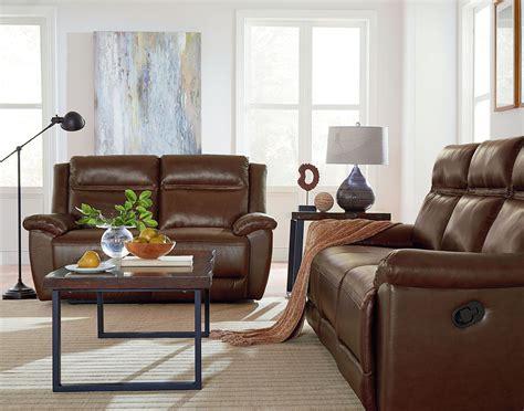 Reclining Living Room Sets : Wyatt Brown Reclining Living Room Set From Standard