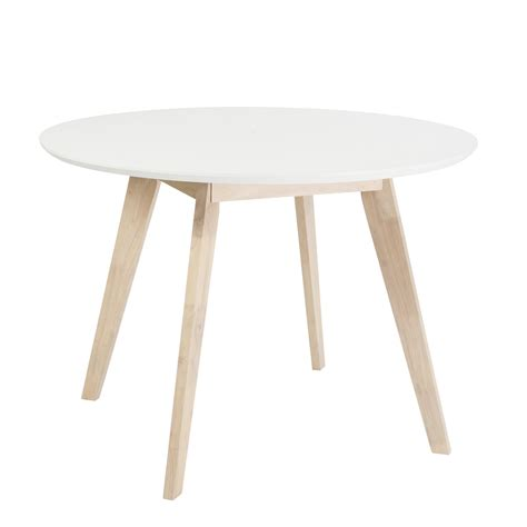 european style kitchen tables euro style 90180wht montana 42 quot transitional round dining