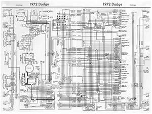 1972 Dodge Challenger Wiring Diagram