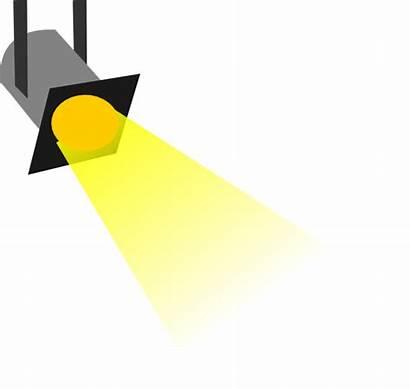 Theatre Clip Lights Clipart Spotlight Lighting Stage