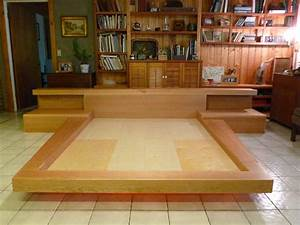 Japanese Platform Bed Designs PDF Woodworking