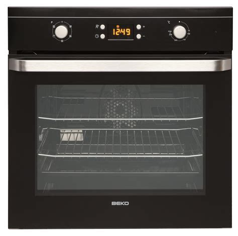 Beko Built in Electric Single Oven Black   OIF21300