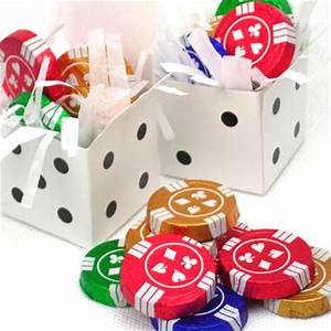 chocolate casino coins wedding favors las vegas wedding With las vegas wedding party favors