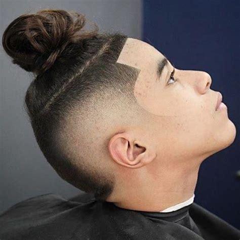 man bun hairstyle  top knot cuts   grow