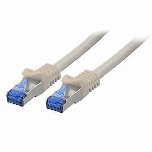10m CAT7 Netzwerkkabel Patchkabel Ethernet Kabel DSL LAN ...