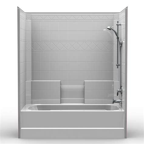 ada bathroom design ideas single tub shower 60 quot x 32 quot x 72 quot shower tub combo