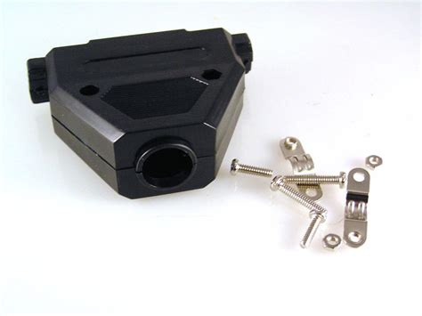 37 Way D Type Connector Cover Black Plastic Select