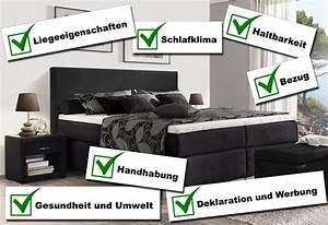 Boxspringbetten Stiftung Warentest : stiftung warentest boxspringbetten ~ Eleganceandgraceweddings.com Haus und Dekorationen