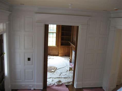 Custom Wainscoting, Raised Panels By Woodworking Oc
