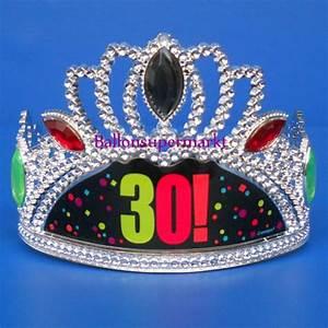 Dekoration 30 Geburtstag : ballonsupermarkt krone zum 30 geburtstag geburtstag 30 dekoration ~ Yasmunasinghe.com Haus und Dekorationen