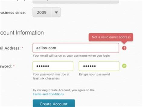 13 best form validation images on ui forms