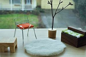 Design in miniature modern dollhouse furniture ideas for Homemade mini furniture