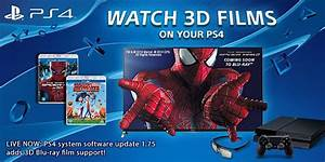 PlayStation 4 Software Update Brings 3D Blu-ray Support ...