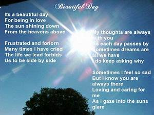 Christin's Poems About Love And Life: Beautiful Day ...