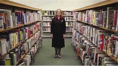 Library Gifs Bibliotecas Animados Librarian Newton Willows