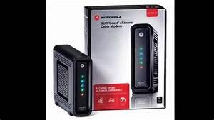 Arris Indicator Lights Motorola Surfboard 6141 Indicator Lights