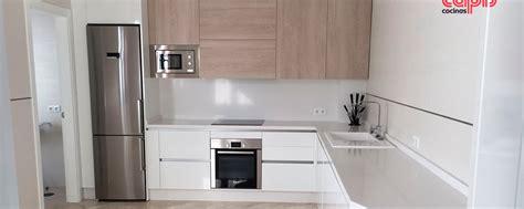 madera  blanco cocinas capis diseno  fabricacion de