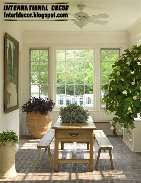 Interesting Light Wood Accents And Furnishings Add Sophistication And Simplicity by How To Decorate A Winter Garden Interesting Ideas