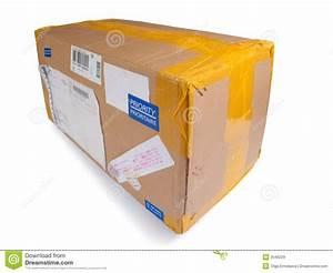 Postal Package Stock Image  Image Of Order  Board  Fragile