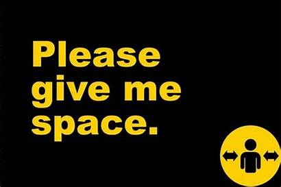 Give Please Space Badges Distance Released Official
