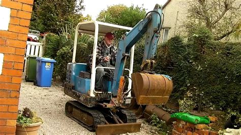 pel job mini digger cold startderrycams youtube channel