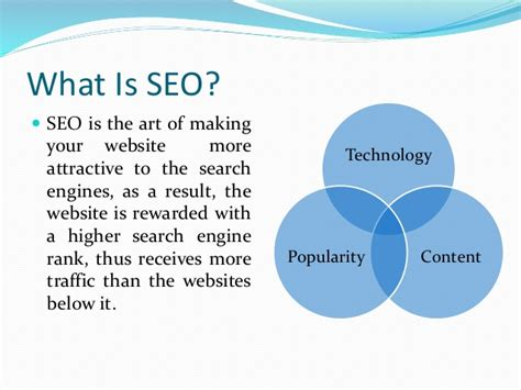 What Is Search Optimization by An Introduction To Search Engine Optimization Seo
