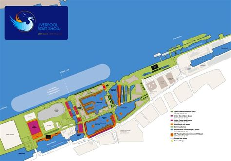 Boat Supplies Liverpool by Liverpool Boat Show Site Plan Credit Liverpool Boat Show