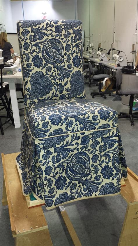 custom parsons chair slipcover chf academy pinterest