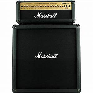 Marshall Mg100hdfx  Mg412 Slant Cab Half Stack Package