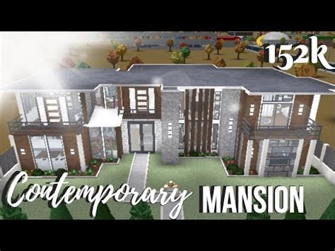 full  roblox bloxburg luxury mansion