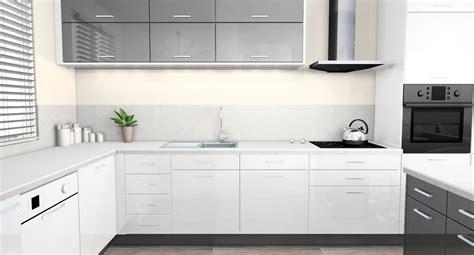 cuisine et gris cuisine gris et blanc nm23 jornalagora