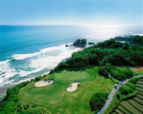location map  nusa dua golf  country club bali