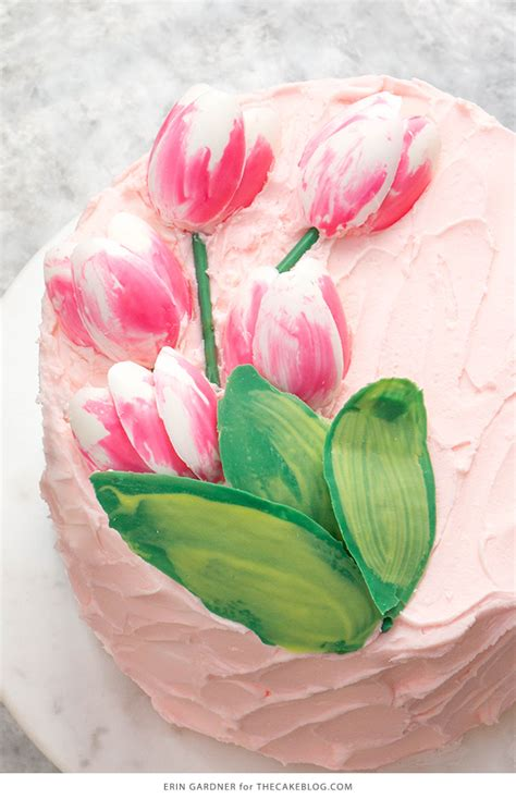 chocolate tulip cake