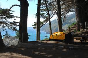 Big Sur Julia Pfeiffer Burns State Park Camping