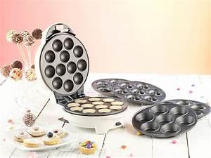 Cake Pop Maschine : rosenstein s hne donutmaker 3in1 donut cupcake und cakepop maker mit antihaftbeschichtung ~ Watch28wear.com Haus und Dekorationen