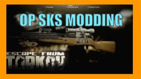 Op Sks Modding Guide (how To Mod