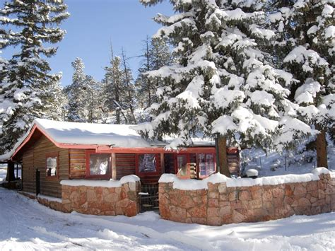 cabin rentals in colorado with tubs cabin rental in the mountains at pikes peak near colorado