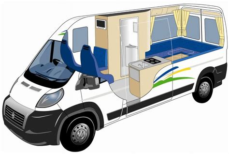 Short Bed Camper by Alpha 2 1 Berth 2 3 Berth With Shower Toilet New