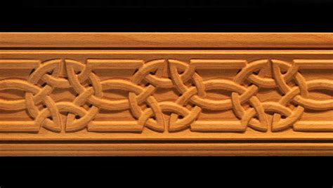 Fleur De Lis Fireplace Screens by Moulding Celtic Knot Carved Wood