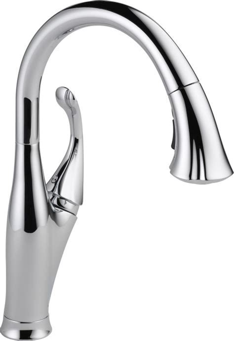 Delta 9192 DST Chrome Addison Pull Down Kitchen Faucet